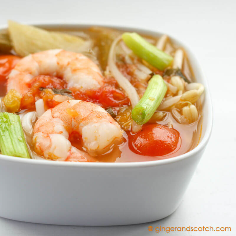 Quick and Easy Vietnamese Sweet and Sour Soup - Ginger and Scotch