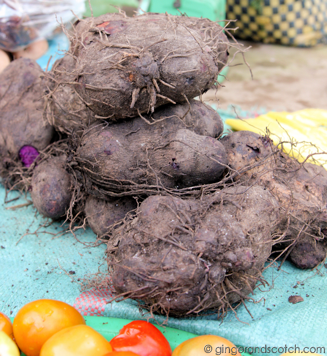 Mekong Homestay - Market - Purple Sweet Potatoes