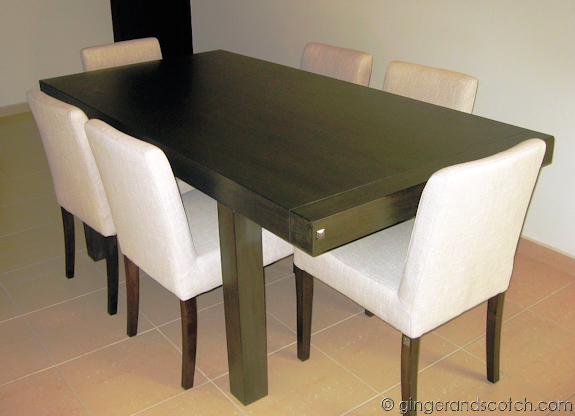 Finally A Dining Table