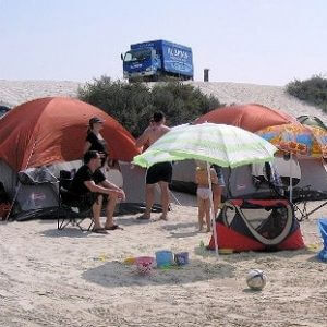 How Not to Go Camping in Dubai