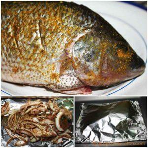 Emirati Baked Fish