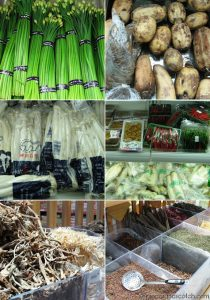 Chinese Vegetables and Spices