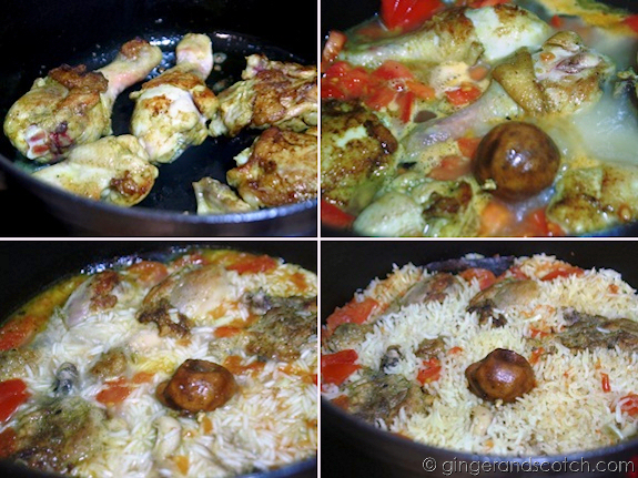 Emirati Chicken Machboos