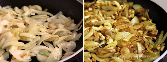 onions and nuts