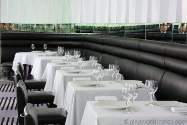Verre dining room