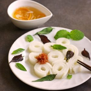 Cheong Fun with Nuoc Cham