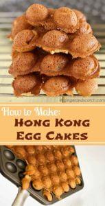 Hong Kong Egg Cakes