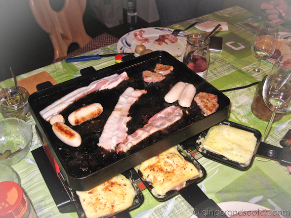 Well-Used Raclette Grill