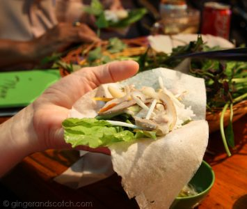 Assembling the Banh Canh