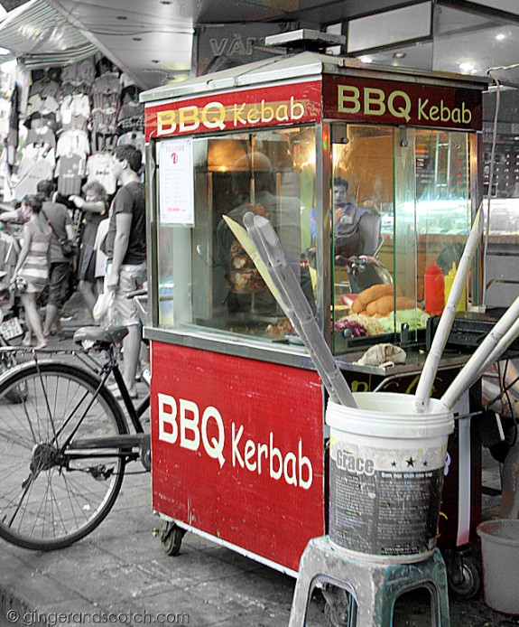 BBQ Kebab Banh Mi