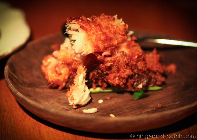 deep fried cured carp??