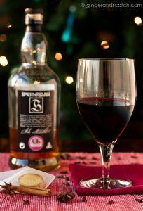 Mulled Wine - Ginger and Scotch