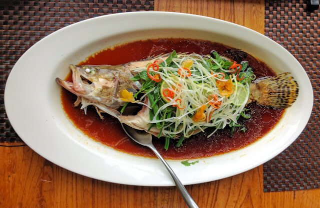 Steamed Fish @ ? 8 ?