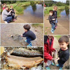 Children Fishing at Rothiemurchus