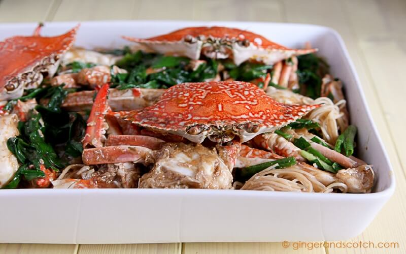 Stir Fry Crabs With Ginger And Scallions Ginger And Scotch
