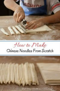 How to Make Homemade Chinese Noodles From Scratch #noodlesfromscratch #homemadenoodles #wheatnoodles