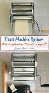 Pasta Machine Review - Marcato Atlas vs Cucina Pro Imperia