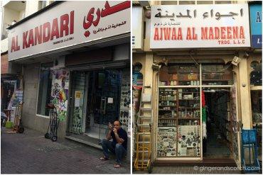Haberdashery shops in the Naif area of Deira, Dubai