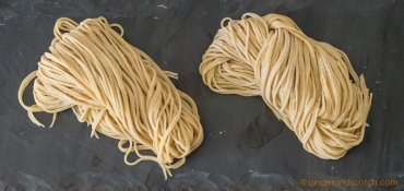 Chinese Egg Noodles From Scratch