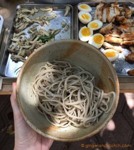 Homemade Soba Noodles From Scratch