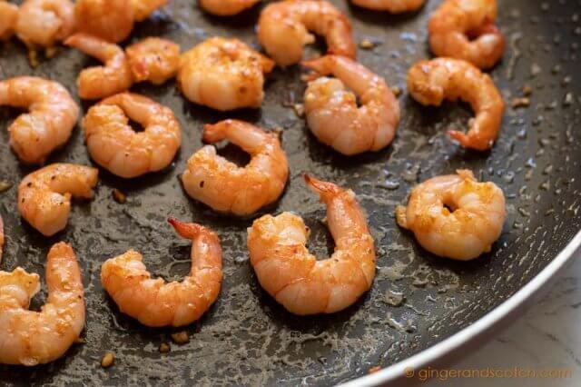 Sauteed Shrimp for Lo Mein
