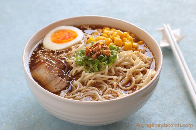 How to Make Tonkotsu Ramen at Home (Pressure Cooker)